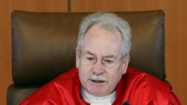 Hassemer: Richter sollten Politikern keine Empfehlungen geben