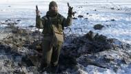 Neue Gefechte in der Ukraine