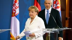 Merkels Balkan-Pragmatismus