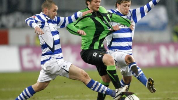 Rückschlag für Duisburg - Niederlage gegen 1860