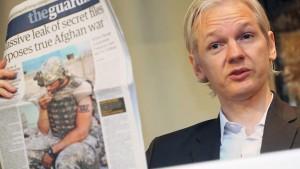 Washington empört über Wikileaks