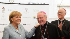 Merkel: Atomausstieg ist lächerlich