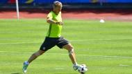 Bastian Schweinsteiger zurück im Training
