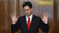 Labour-Chef Ed Miliband tritt zurück