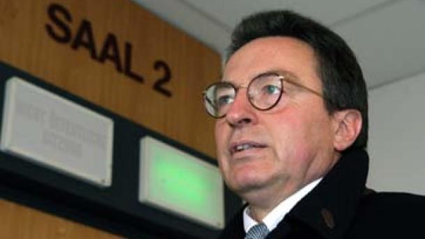 Ermittlungen gegen Volkert-Anwalt Diestel