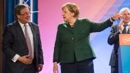 Merkel und Schulz mischen mit