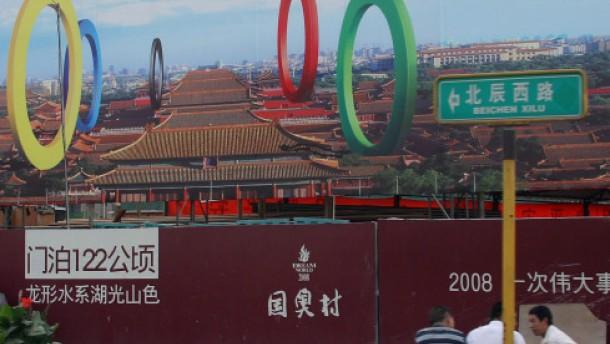 Alle Europäer in Peking am Start