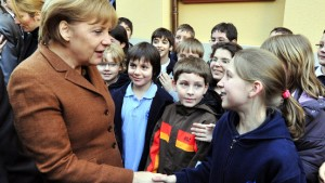 Schulstunde mit Frau Merkel und Herrn Davutoglu