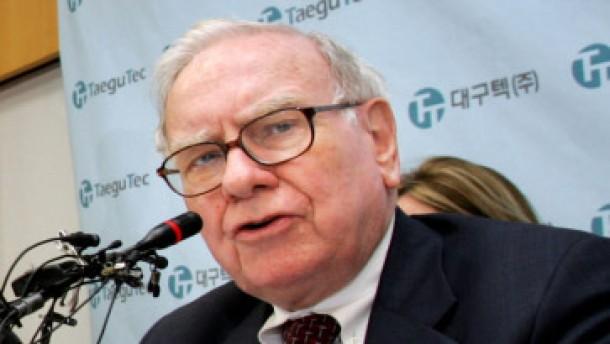 Warren Buffett an Münchener Rück beteiligt