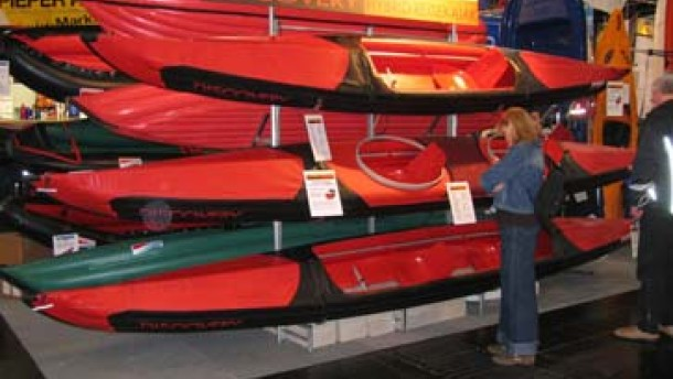 Ein Faltboot für die erfolgreichste Kanutin aller Zeiten