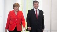 Merkel beklagt schleppende Entwicklung in der Ostukraine