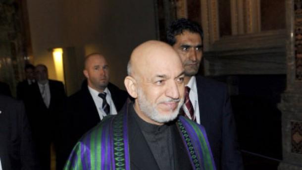 Karsai fordert Ende der Nato-Einsätze