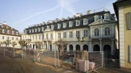 Der Arkaden-Bau in Wilhelmsbad, in dem das Puppenmuseum untergebracht ist