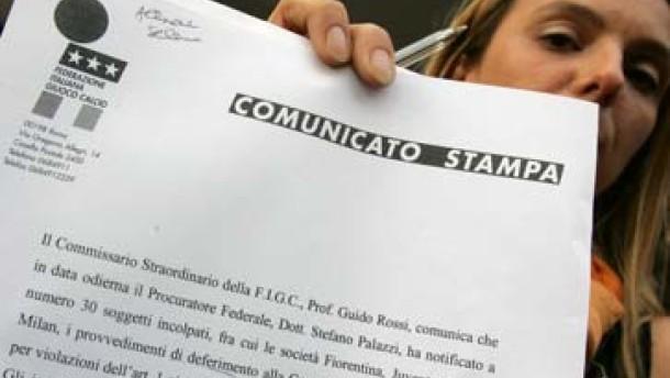 Juve, Mailand, Lazio und Florenz vor Gericht