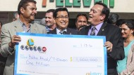 Geldsegen nach Powerball-Lotterie