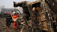 Mehr Tote in Tianjin als befürchtet