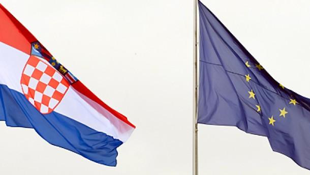 Barroso empfiehlt Aufnahme Kroatiens