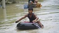 Tote nach Überschwemmungen