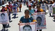 Schicksal der 43 vermissten Studenten im Mexiko weiter ungeklärt