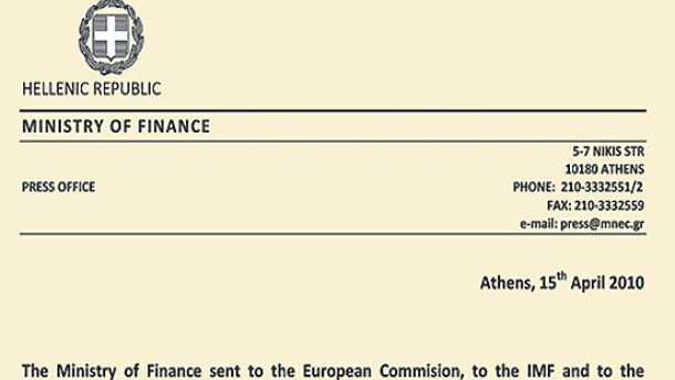 Griechenland bereitet Hilferuf vor