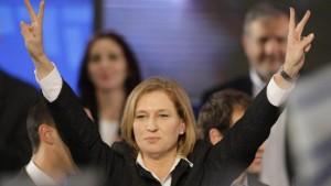 Livni und Netanjahu streiten um Regierungsbildung