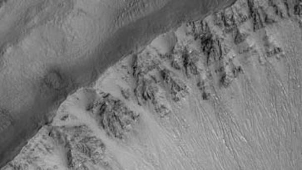 Deutliche Hinweise auf Wasser auf dem Mars