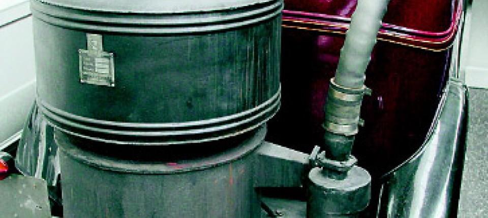 Außergewöhnlich Holzvergaser: Über allem ein Hauch von Bückling - Motor - FAZ @SR_54