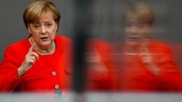 Merkel stellt Aussetzung der EU-Beitrittsgespräche mit der Türkei in Aussicht