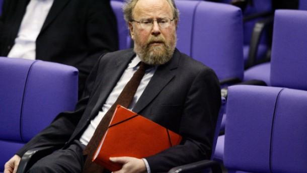 Thierse wieder als Bundestagsvizepräsident nominiert