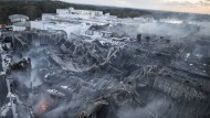 Technischer Defekt löste Feuer bei Wiesenhof aus