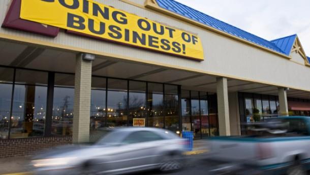 Amerika steckt tief in der Rezession