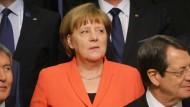 Merkel fordert weltweiten Ansatz beim Kampf gegen Fluchtursachen