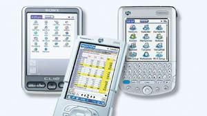 Palm oder Pocket PC: Das ist hier die Frage