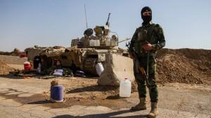 Peschmerga-Kämpfer sichern Norden von Irak