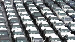 Export der deutschen Autoindustrie bricht ein