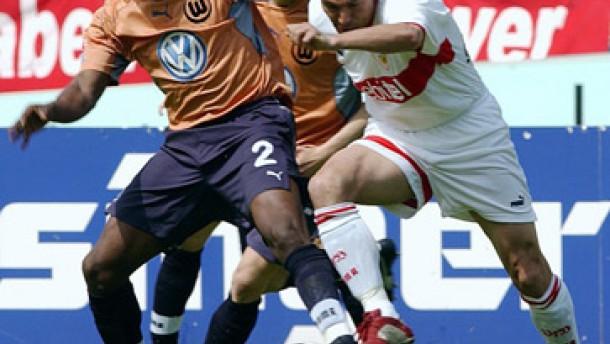 Stuttgart fängt Dortmund noch ab