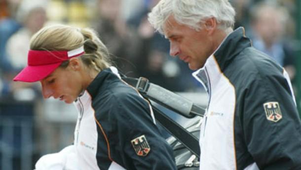 Beste deutsche Tennisspielerin noch nicht gut genug