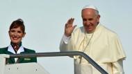 Papst besucht El Alto in Bolivien