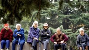 Immer mehr alte Chinesen