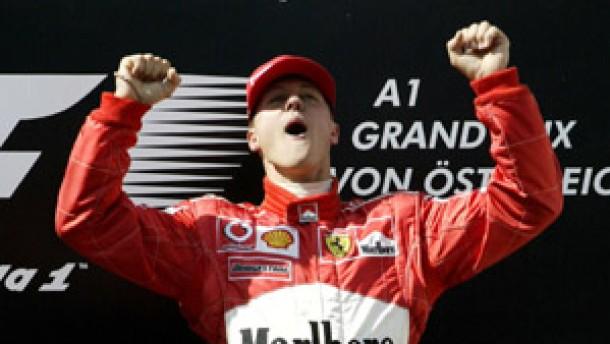 Schumacher auf dem Sprung