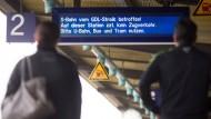 Bahnstreik im Personenverkehr hat begonnen
