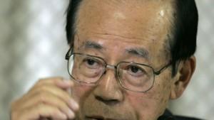 Yasuo Fukuda soll neuer Ministerpräsident werden