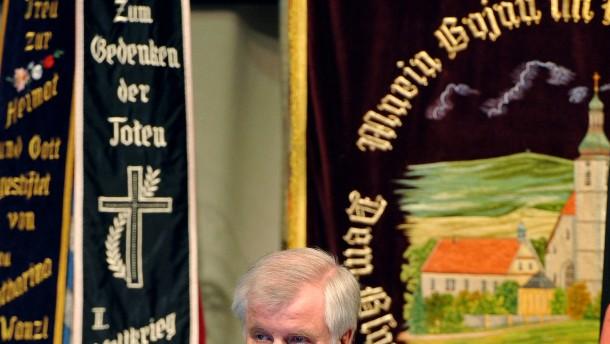Seehofer betont Willen zum Dialog mit Tschechen
