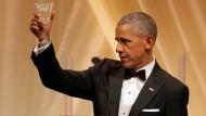 Obamas letztes Staatsbankett im Weißen Haus