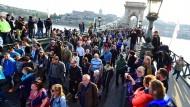 Proteste für ungarische Soros-Universität