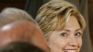 Hillary Clinton unter den härtesten Jungs Amerikas