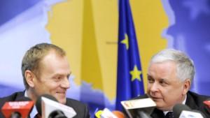 Vorteil Tusk vor dem Verfassungsgericht