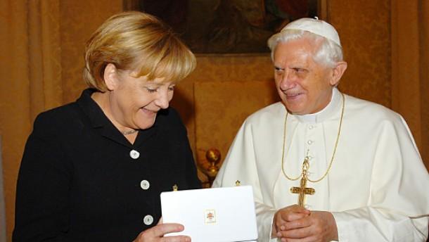 """Merkel lobt """"wichtiges und gutes Signal"""" des Vatikans"""