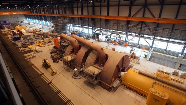 Kohlekraftwerk Moorburg nimmt Gestalt an