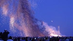 Explosion nach sechs Sekunden